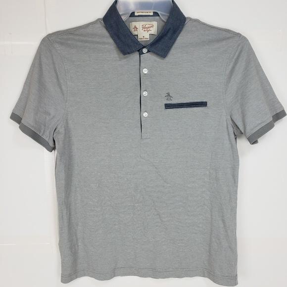 0a30e8041f9e Original Penguin Munsingwear Polo Shirt w pocket M.  M 5b907ad8a31c33547e6f59de